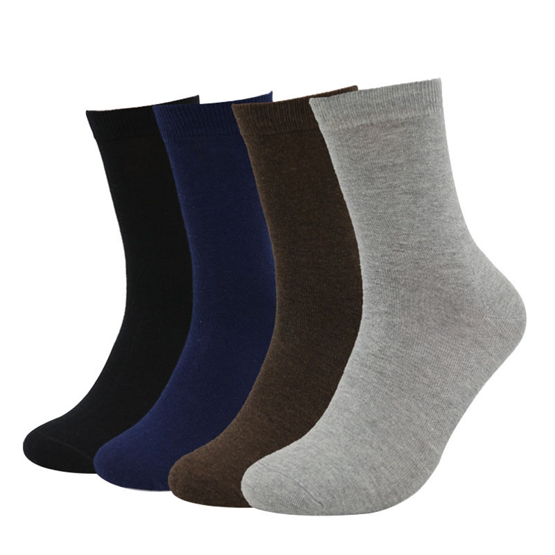 5pairs Mens Socks Brand New Mens Socks Cotton Business Dress Summer Solid Colored Black White Short Sokken Winter Sox Male Meia