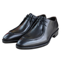 MALONED Мужская обувь ручной работы из натуральной кожи сделать с Goodyear Welted для свадьбы Вечерние обувь