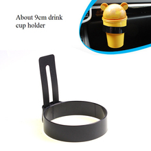 Hot Auto Car Console Cup Holders Coffee Cup Stand Water Cup Holder about 9cm bottle tray car styling automobile accessories 1424