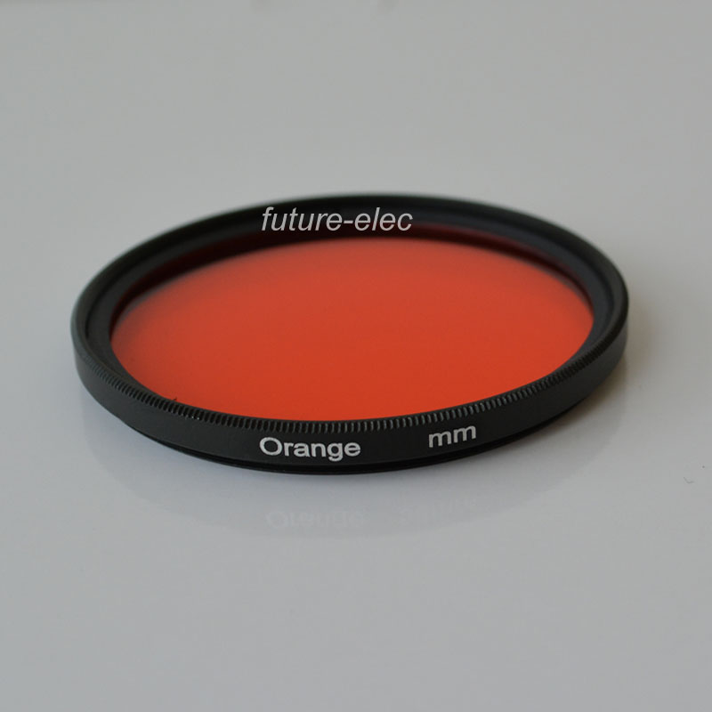 40.5mm 1pcs 30mm 37mm 40.5mm 43mm 46mm 49mm 52mm 55mm 58mm 62mm 67mm 72mm 77mm 82mm Full Yellow Color Lens Filter Protector