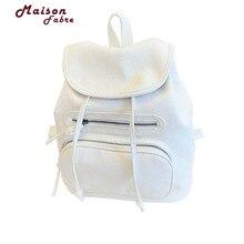 Maison Фабр Жасмин путешествия Для Женщин Девочка Кожаный Плечевой школьная сумка рюкзак дорожная сумка рюкзак Sep29