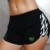 Verão 2017 moda elastic mulheres frias calções Corpo de Engenheiros de fitness shorts apertados casualquick