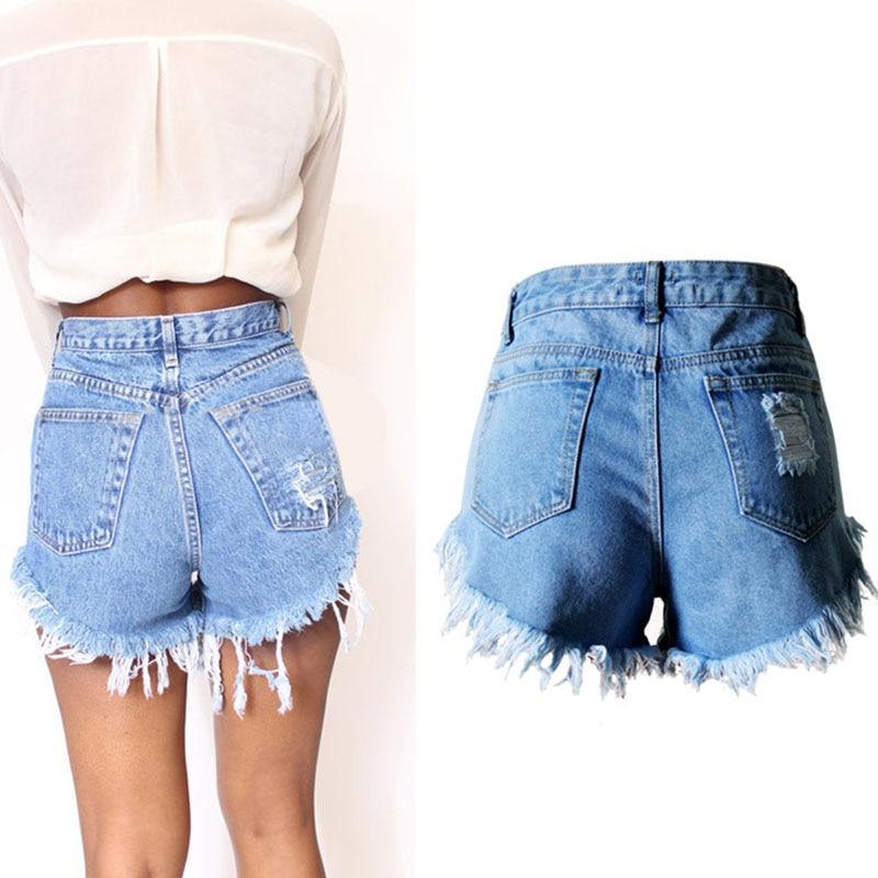 Women's Fashion Denim Shorts Hot Summer Jeans Festival Plus Size ...