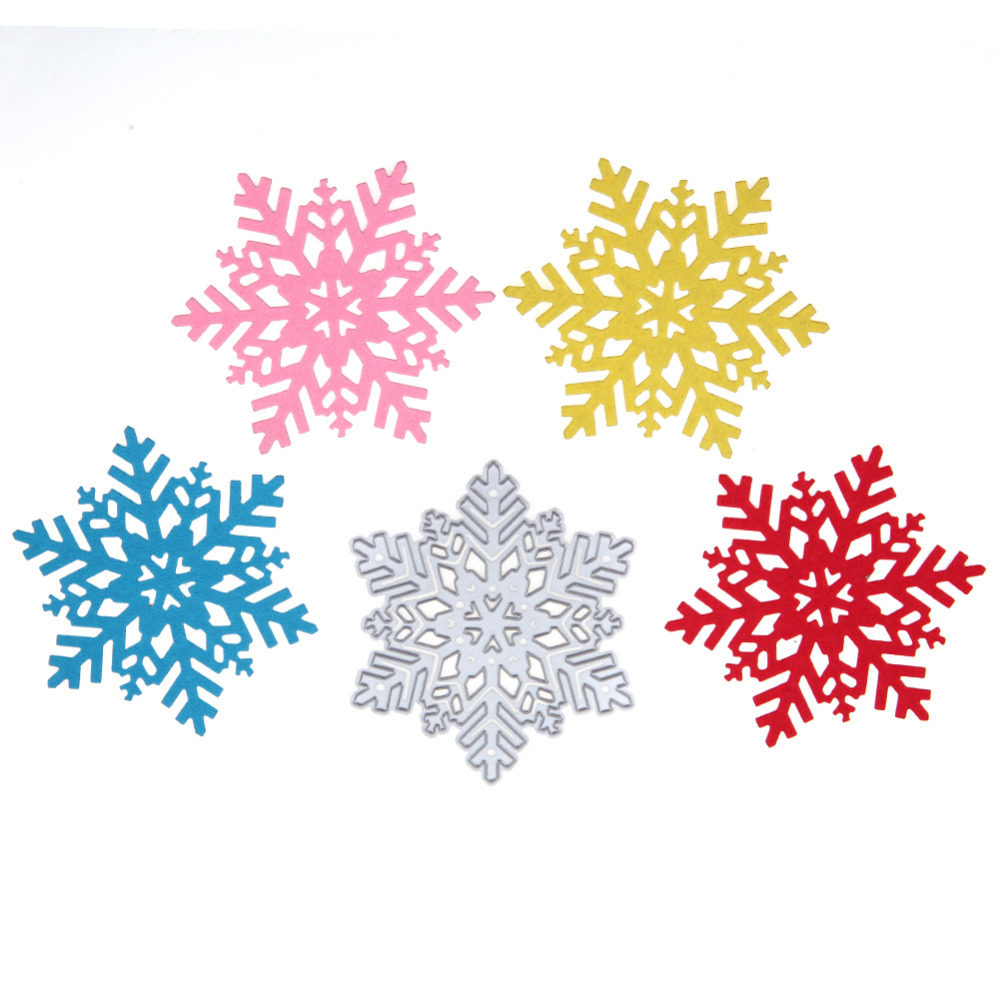 winter snowflake Metal Cutting Dies Stencils Scrapbooking Paper Cards Decoration