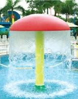 Exported to Middle East Water Park Equipment Without Pump CE Certified Kids Water Mushroom HZ 7410