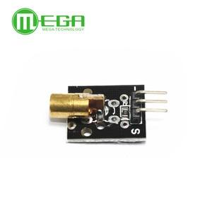 Image 3 - 50PCS KY 008 650nm לייזר חיישן מודול 6mm 5V 5mW אדום לייזר דוט דיודה נחושת ראש עבור arduino