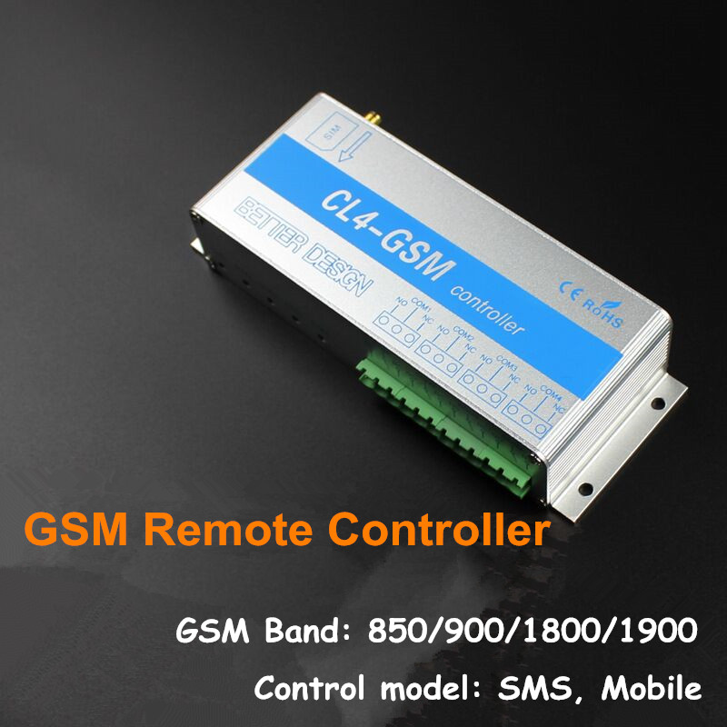2pcs/ Lot CL4-GSM Mobile Phone Remote Controller Server Routers Iron Door Remote Control Opening and Closing Обои