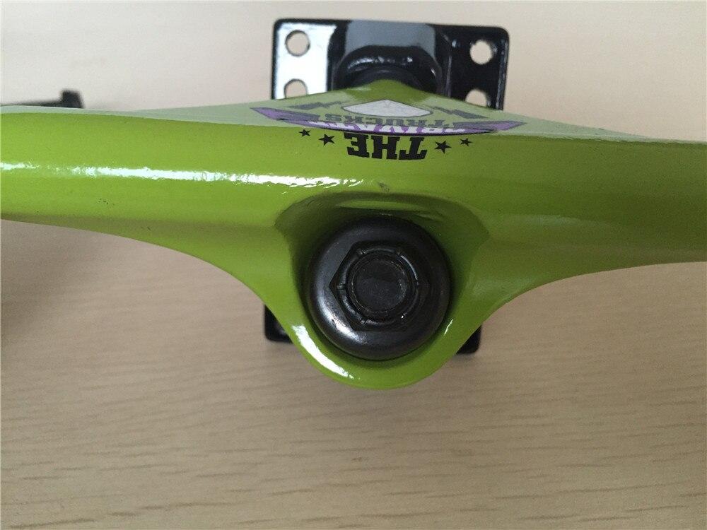 """Image 5 - Skateboard Trucks Private Skateboard Truck 5"""" Aluminum Skate Trucks For 7.5"""" 8"""" Skateboards Decks-in Skate Board from Sports & Entertainment"""