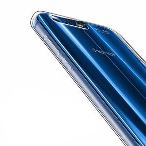 "Image 2 - RONICAN Huawei 社 honor 9 ケースシリコーンカバー honor 9 スリム透明電話保護ソフトシェル Huawei 社 honor 9 5.15"""