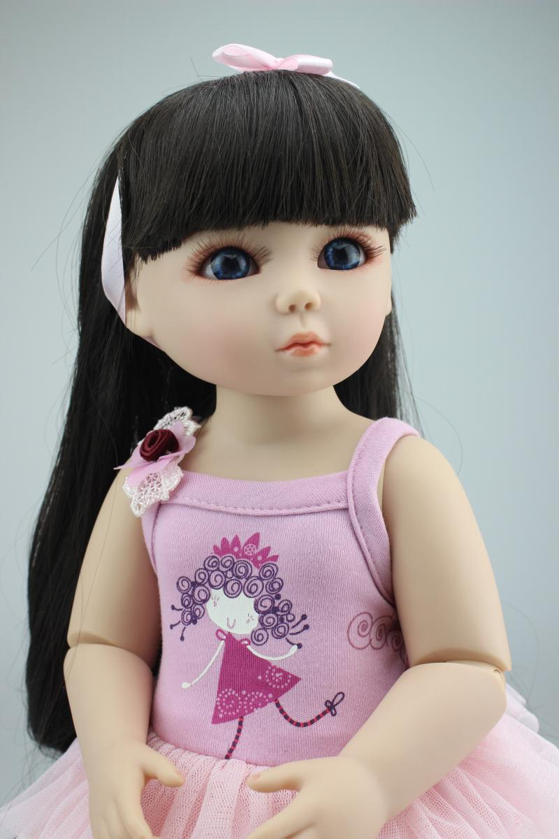 1/4(45cm) BJD/SD girl bjd doll, TOP QUALITY jointed bonecas best lover gift kids toys