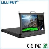 Lilliput RM 1730S 17,3 3g SDI монитора трансляция директор монитор Full HD 1920*1080 ips 1RU монтажа в стойку монитора HDMI Талли VGA
