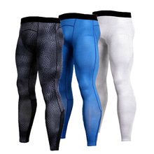 Rashgard Running Pants Men Fitness Leggings Quick Dry Snake Scales Sports Compression Pants Gym Running Tights Elastic Trousers