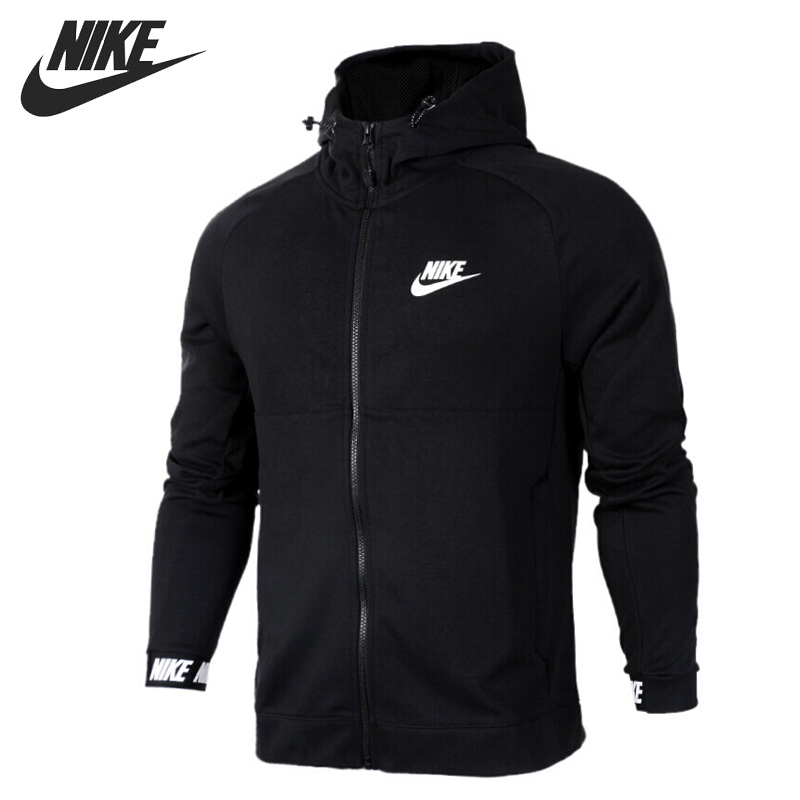 Original New Arrival 2018 NIKE NSW AV15 HOODIE FZ FLC Men's Jacket Hooded Sportswear original new arrival 2018 nike nsw hoodie fz ft jdi men s jacket hooded sportswear