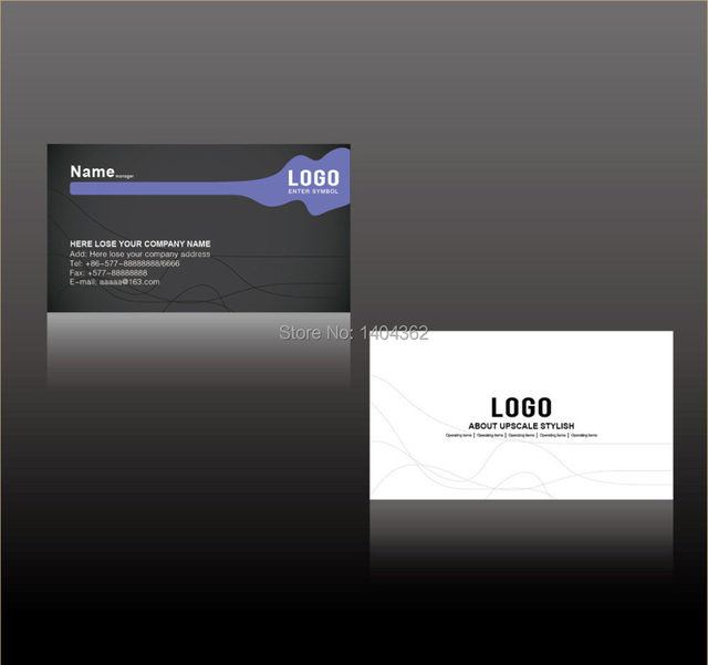 Online shop free shipping 1000pcslot paper business card 300gsm free shipping 1000pcslot paper business card 300gsm silk laminated paper cards with custom logo printing no1019 colourmoves