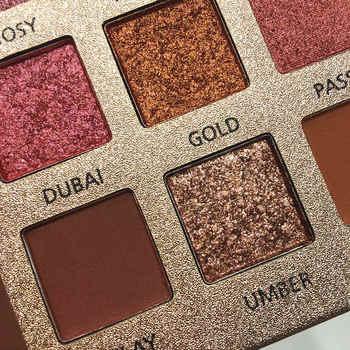 Beauty Glazed 18 Color Nude Shining Eyeshadow Palette Makeup Glitter Pigment Smoky Eye Shadow Pallete Waterproof Cosmetics 3