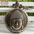 China Buddha Buddha mito médio retro relógio de quartzo ZS028