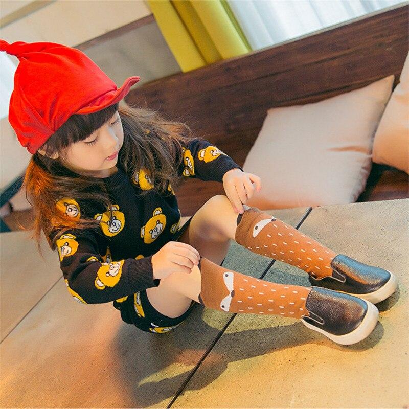 Kids Toddler Baby Girls Boy Socks Cotton Blend Breathable Knee High Long Warm Knee Socks Girl Boy Baby Toddler Socks Animal