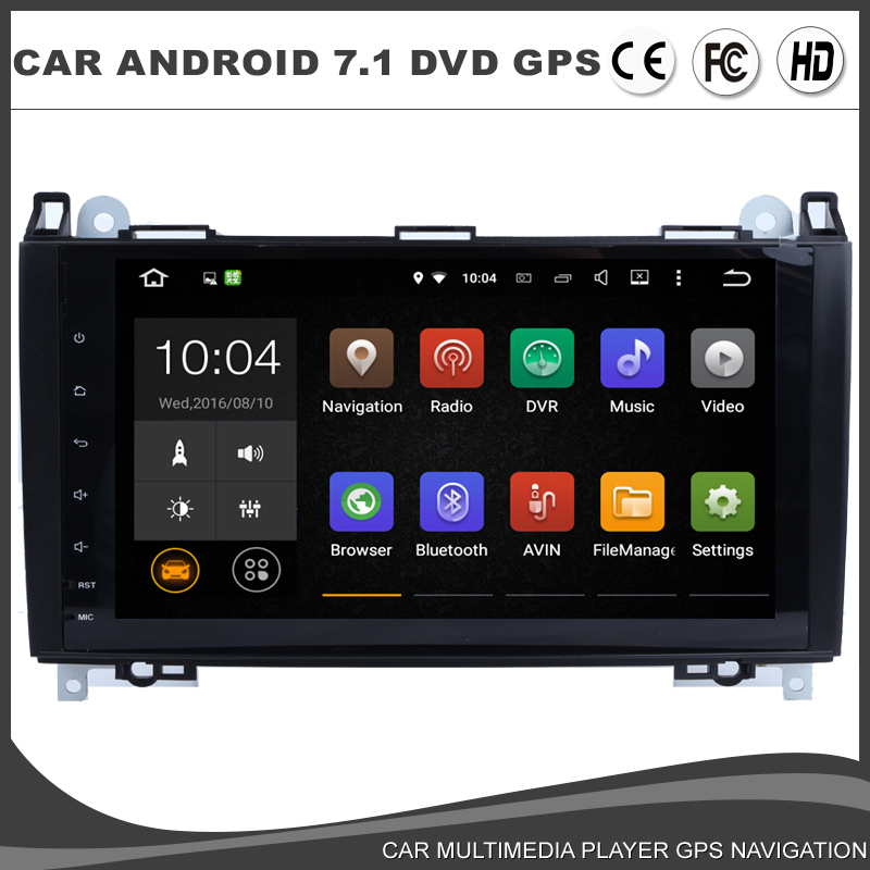 9 inch android 7 1 1 car dvd gps player for mercedes benz for Mercedes benz app for android