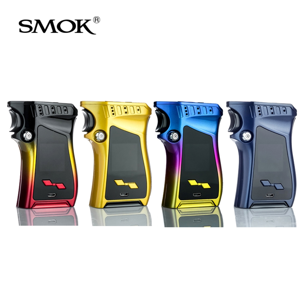 Original SMOK MAG 225W TC Mod box 225w Output VW/TC and MEMORY Mode Gun-handle Electronic cigarette Vape Mod Box цены