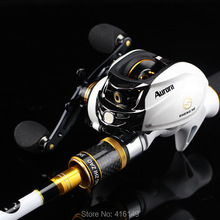 2.1m 2.4m casting fishing rod and reel combo 7′ 8′ M MH