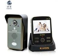 3.5 inch LED Door Viewer Peephole Door Bell Eye Doorbell Door Camera Photo/Video Press Recording With IR Night Vision 1.0