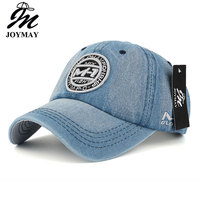New Arrival High Quality Snapback Cap Demin Baseball Cap 5 Color Jean Badge Embroidery Hat For