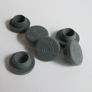 Image 5 - 500 × 10ミリリットルクリアアンバー注入ガラスバイアルとプラスチックアルミCap1/3オンス透明ガラスボトル10ccガラス容器