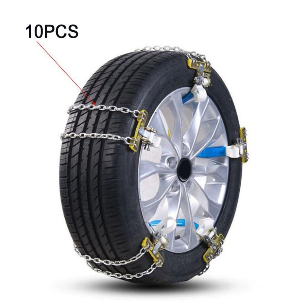 Chaîne de voiture de chaîne antidérapante de pneu d'automobile générale pour la chaîne universelle de secours de terre de neige de véhicule tout-terrain