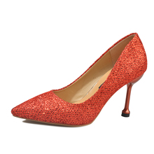 d5c81dc925 Buy glitter red shoes and get free shipping on AliExpress.com