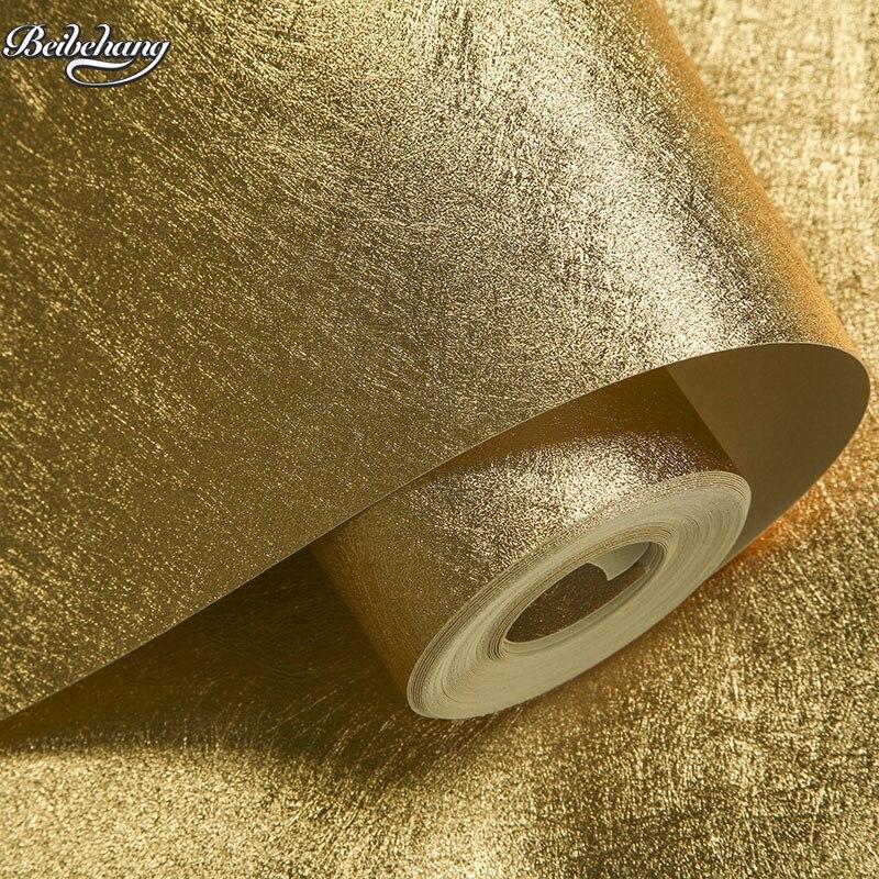 Beibehang feuille d'or feuille d'argent dessin européen fond papier peint chambre salon gommage suspendu toit papier peint