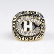 Increíble promoción grande Patrick Roy Stanley Cup anillo 1986 Replica anillo de Campeón Montreal Canadiens de Hockey Sobre Hielo hockey