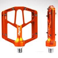 Wellgo B181 Mountain bike pedal pedal road bicycle Aluminum alloy Anti skid pedal chromium molybdenum steel axis