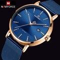 NAVIFORCE кварцевые часы мужские люксовый бренд Нержавеющая сталь сетка ремешок наручные часы большие мужские s часы relogio masculino