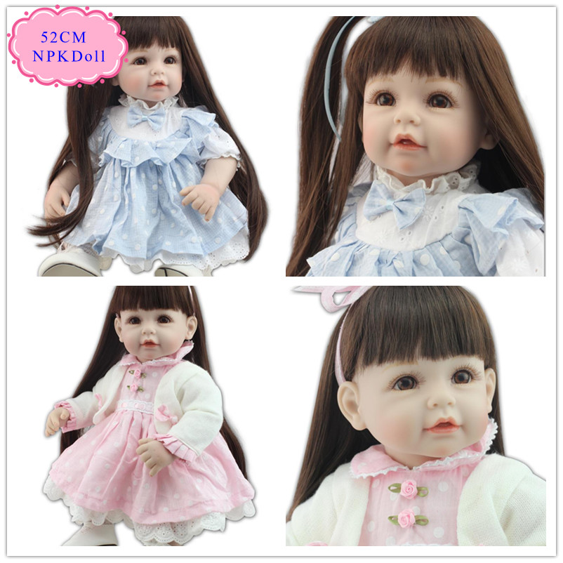 Princess 20inch 50 cm Adora Baby Doll With Soft Long Hair Can Make Many Hair Style Lovely Reborn Toddler Dolls Good Price Doll кукла adora baby doll 20 classic snow white