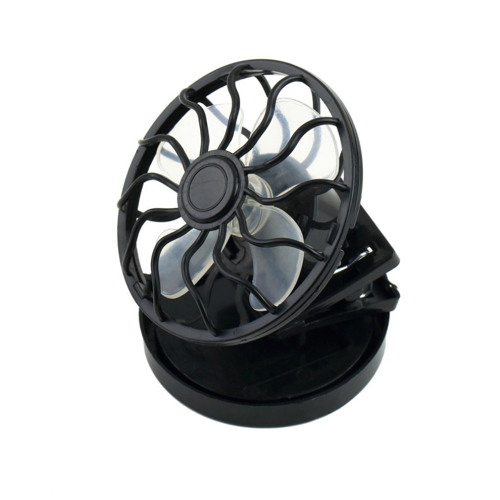 electric Sun energy Panel Cooling Fan clip fan energy saving Clip-on Solar Mini Micro Cell Sun fan Power For Gaming Camping