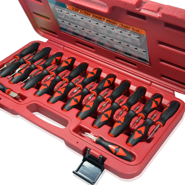 Beiinle Car 23 in 1 Automotive Wiring Harness Terminal Removal Tools / terminal disassembling tool / Terminal Release Tool
