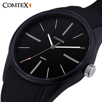 COMTEX Waterproof Quality Men S Sports Watch Ultra Thin Men S Watch Personality Students Watch Fashion
