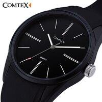 COMTEX Waterproof Quality Men S Sports Watch Ultra Thin Men S Watch Personality Students Watch Fashion