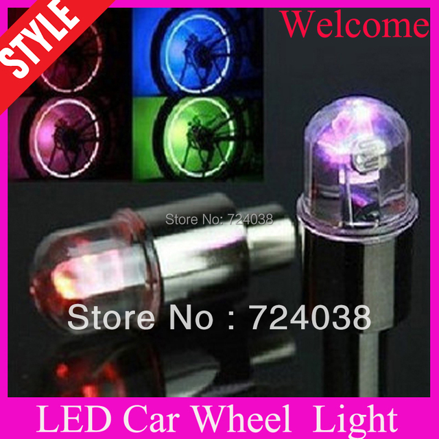 Bicycle steering wheels motorcycle car LED DRL daytime running lights car styling and parking source( it is 3 color change)