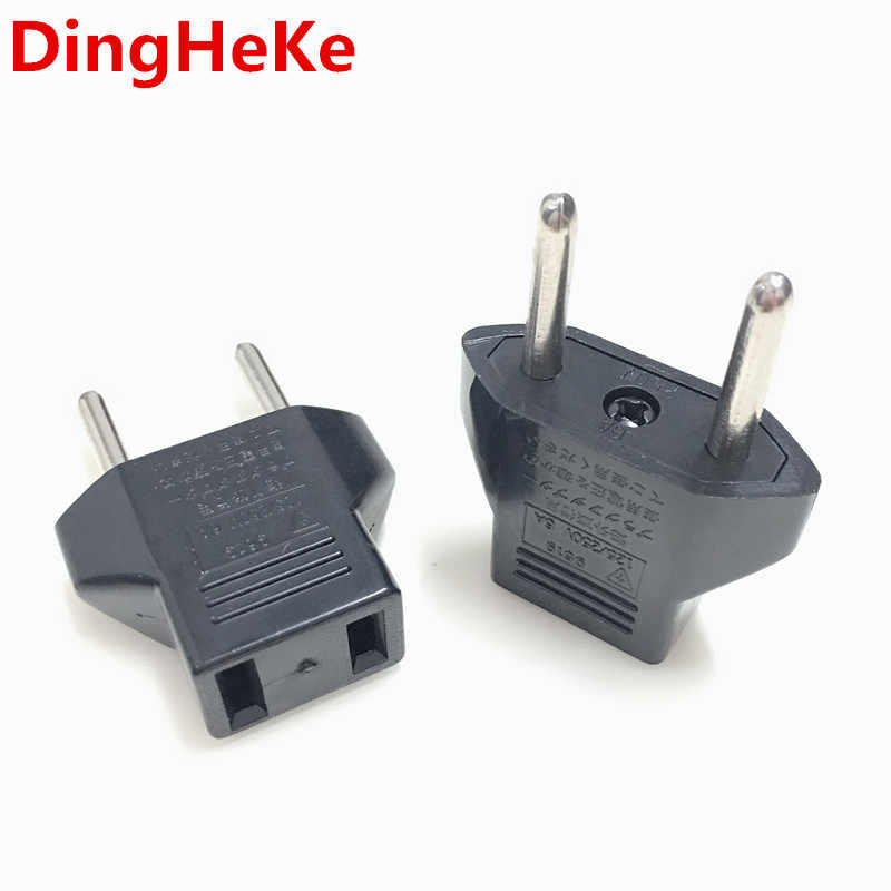 Europese Eu Duitse Plug Adapter Us Jp Amerikaanse China Naar Europa Euro Travel Power Adapter Plug Outlet Converter Socket
