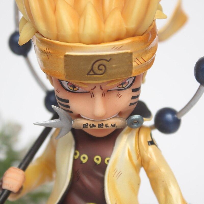 Anime Naruto Shippuden GK Uzumaki Naruto Sage Mode PVC Figure Toy IN BOX LImited