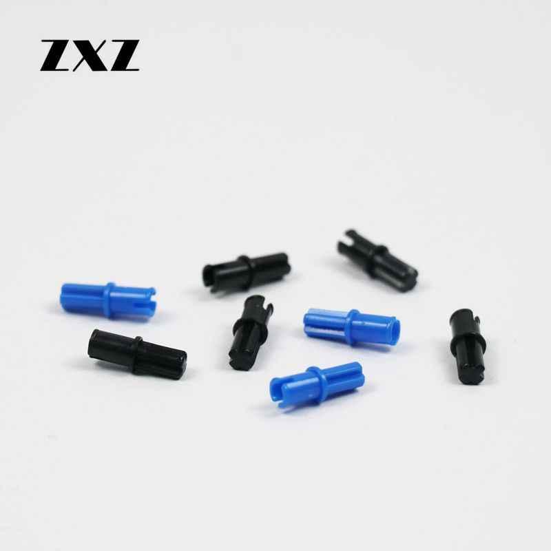 Light Gray Axle Pin without Friction Ridges Lengthwise 10 X  Lego 3749 Technic