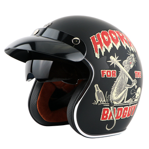 Image 2 - TORC T57  vintage helmet motorcycle open face 3/4 helmet inner visor motocross jet retro capacete casque moto helmet ECE