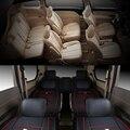 Роскошный из искусственной кожи Комплект для сидений автомобиля передние + средние + задние 7 чехлов для сидений автомобиля для MPV HONDA Elysion / GL8...