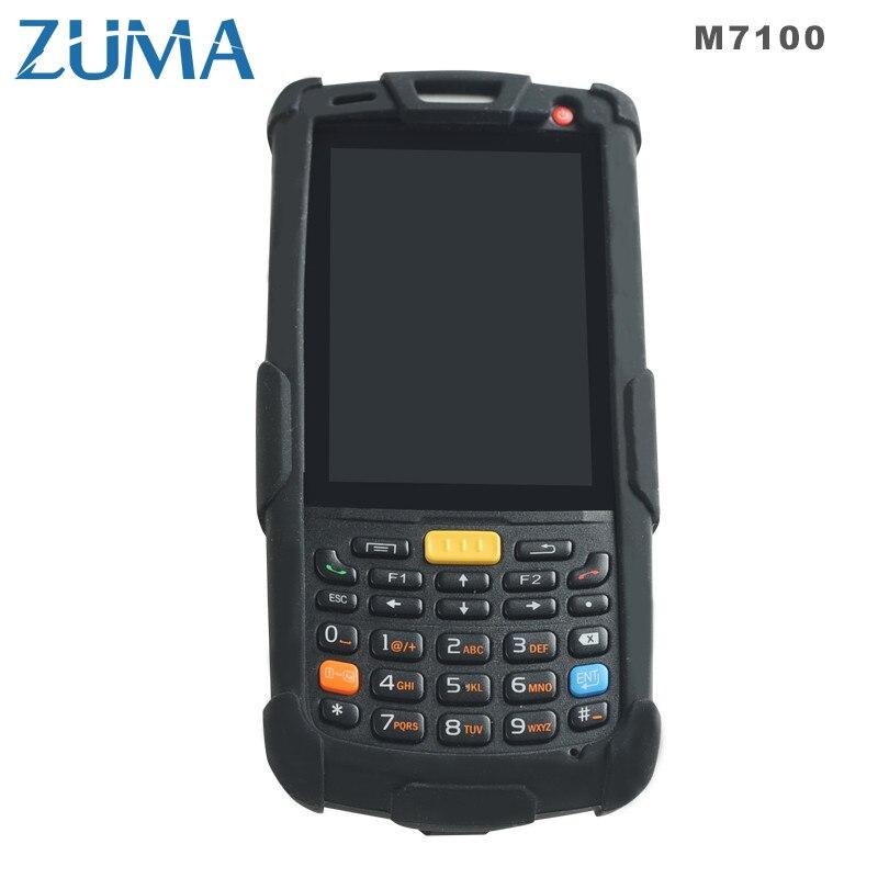 PDA Android4.2.2 двойной 1.0gh Процессор + GPS + 4 г + WI-FI + Bluetooth4.0 + камера + 2D сканер штрих-кода