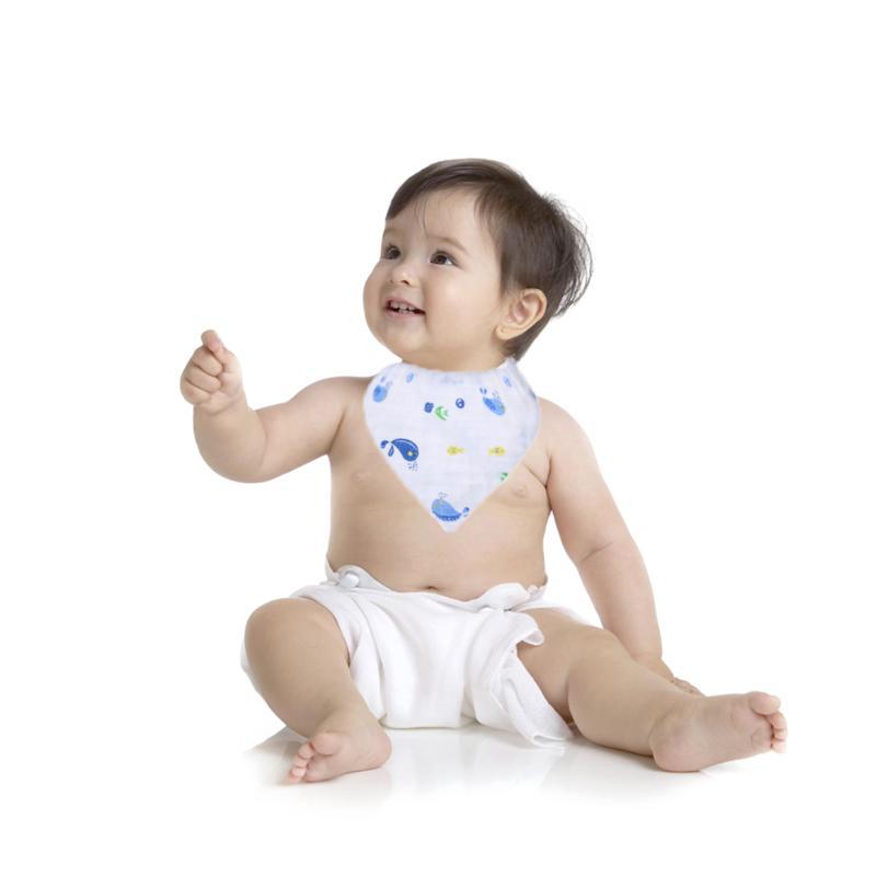 Newborn Baby Bibs Cotton Gauze Waterproof Towel Infant Toddler Triangle Scarf Burp Cloths Saliva Towel Feeding Products
