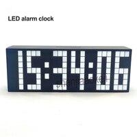 Large Digital LED Alarm Clock Countdown Timer Big Screen Sports Stopwatch Home Decor Perpetual calendar wall clock living room