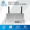 Core HTPC Mini Computer Core i3 5005U 4010U i5 Mini PC Computer TV box 500GB HDD Wifi USB3.0 Integrated Graphics