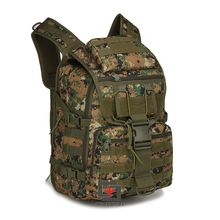 Promotional Camping Bags Unisex Outdoor Waterproof Molle Bagpack Military 3P Tactical Backpack Big Assault Travel Bag Packsack