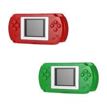 مشغل ألعاب محمول باليد للأطفال من Powstro بشاشة 2 بوصة لوحات مفاتيح بشاشة ملونة 502 مشغل ألعاب للتلفاز مع 268 لعبة مختلفة